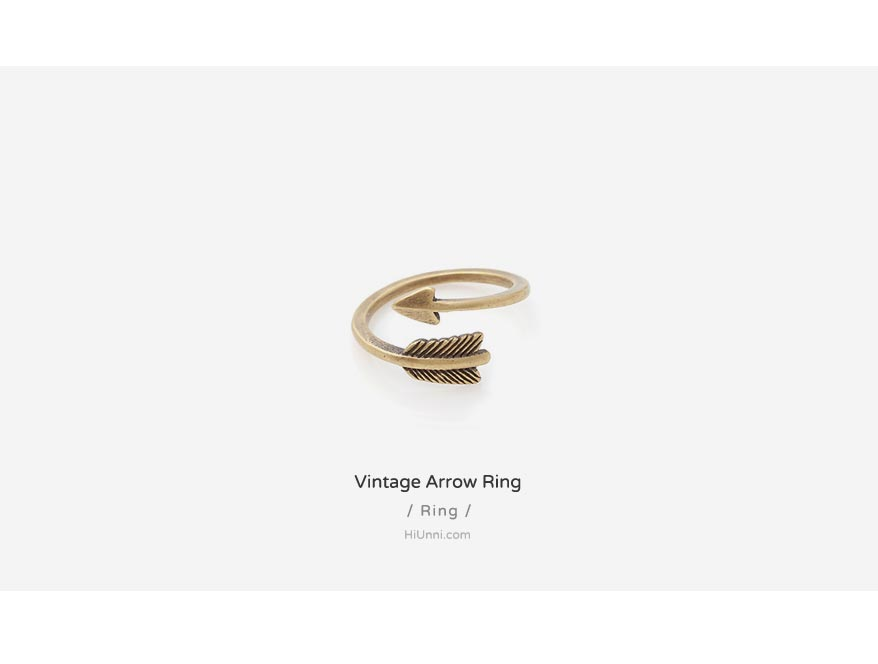 accessories_korean_asian_style_jewelry_ring_vintage_trendy_arrow_3