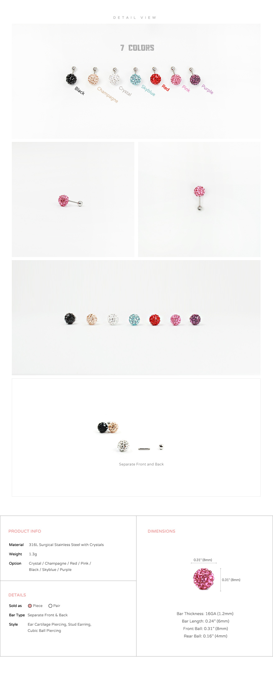 8mm_ear_studs_piercing_Cartilage_korean_asian_style_cubicball_barbell_4