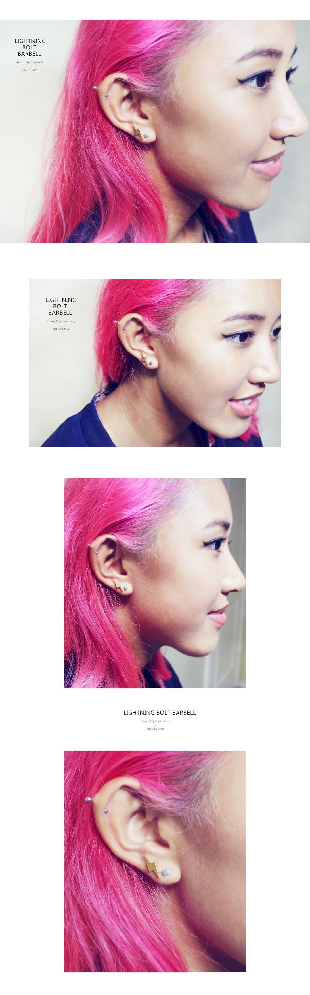 ear_studs_piercing_Cartilage_16g_316l_Stainless_Steel_earring_korean_asian_style_barbell_Lightning_bolt_3