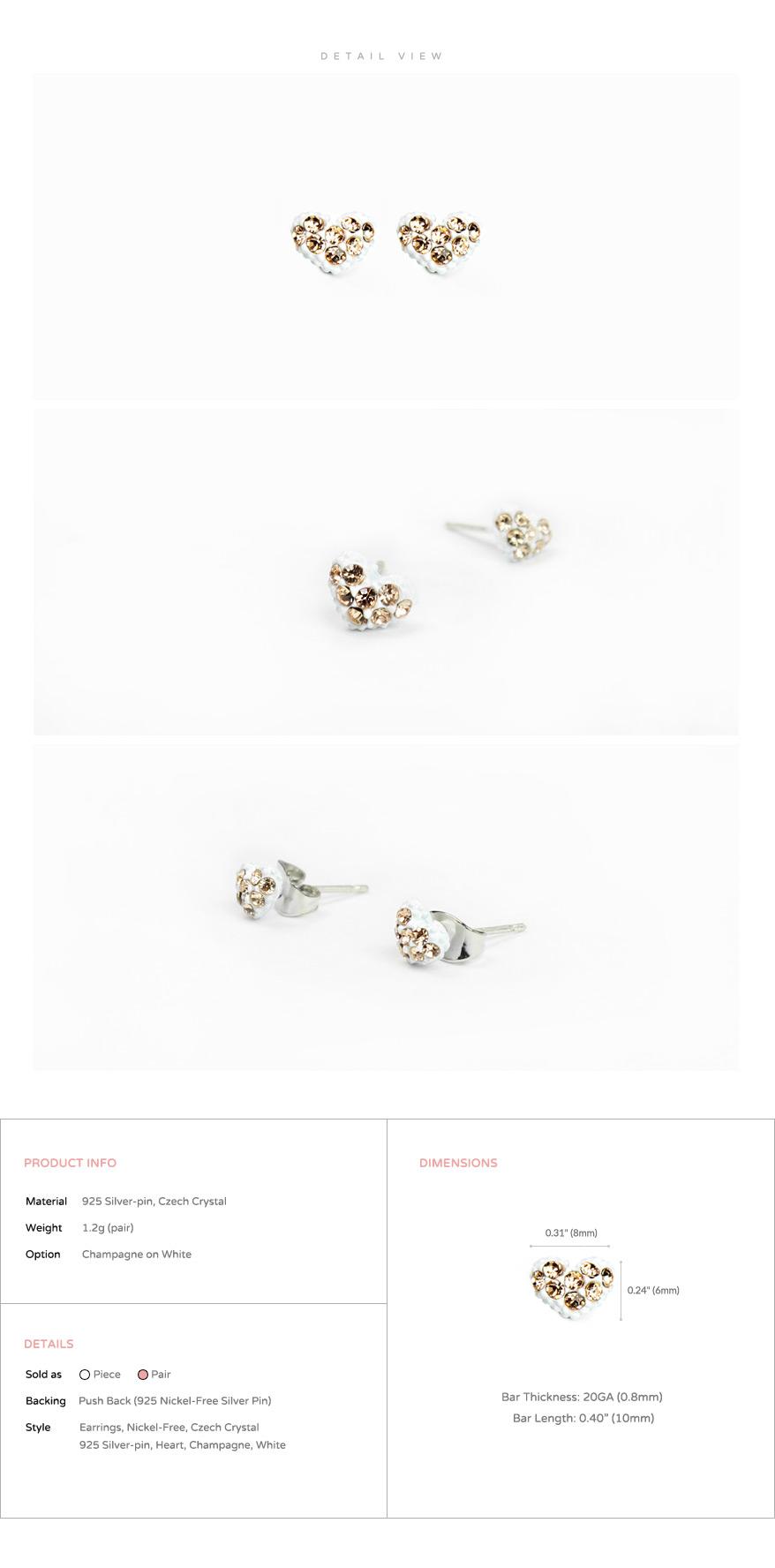accessories_ear_stud_earrings_korean_asian-style_Crystal_Rhinestone_Czech_925-silver_Nickel-Free_heart_love_white_Champagne_2
