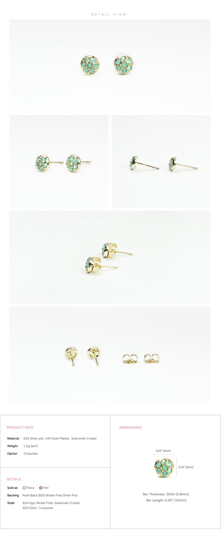 accessories_ear_stud_earrings_korean_asian-style_Crystal_Swarovski_925-silver_14KGP_Nickel-Free_Turquoise_indian_2