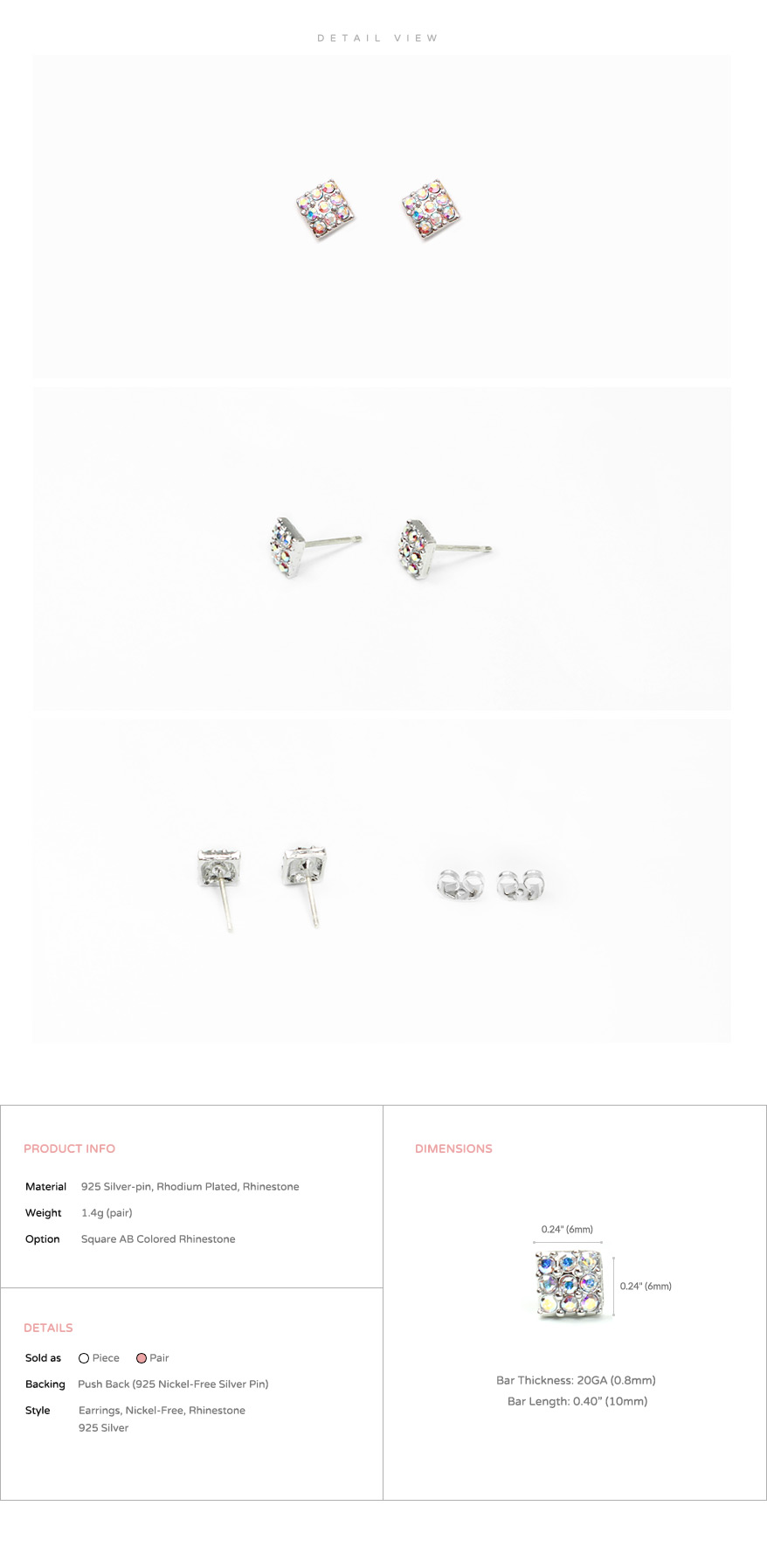 accessories_ear_stud_earrings_korean_asian-style_Rhinestone_925-silver_Rhodium-Plated_Nickel-Free_Square_AB_Aurora-Borealis_3