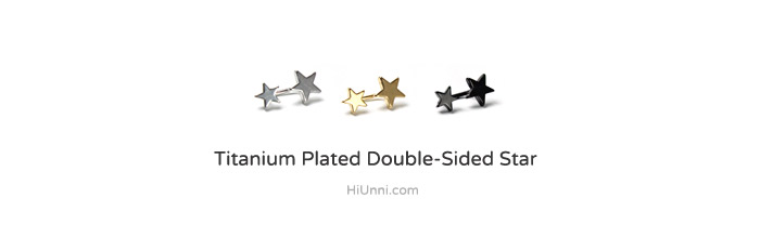 ear_studs_piercing_Cartilage_16g_316l_Stainless_Steel_earring_korean_asian_style_barbell_star_double_sided