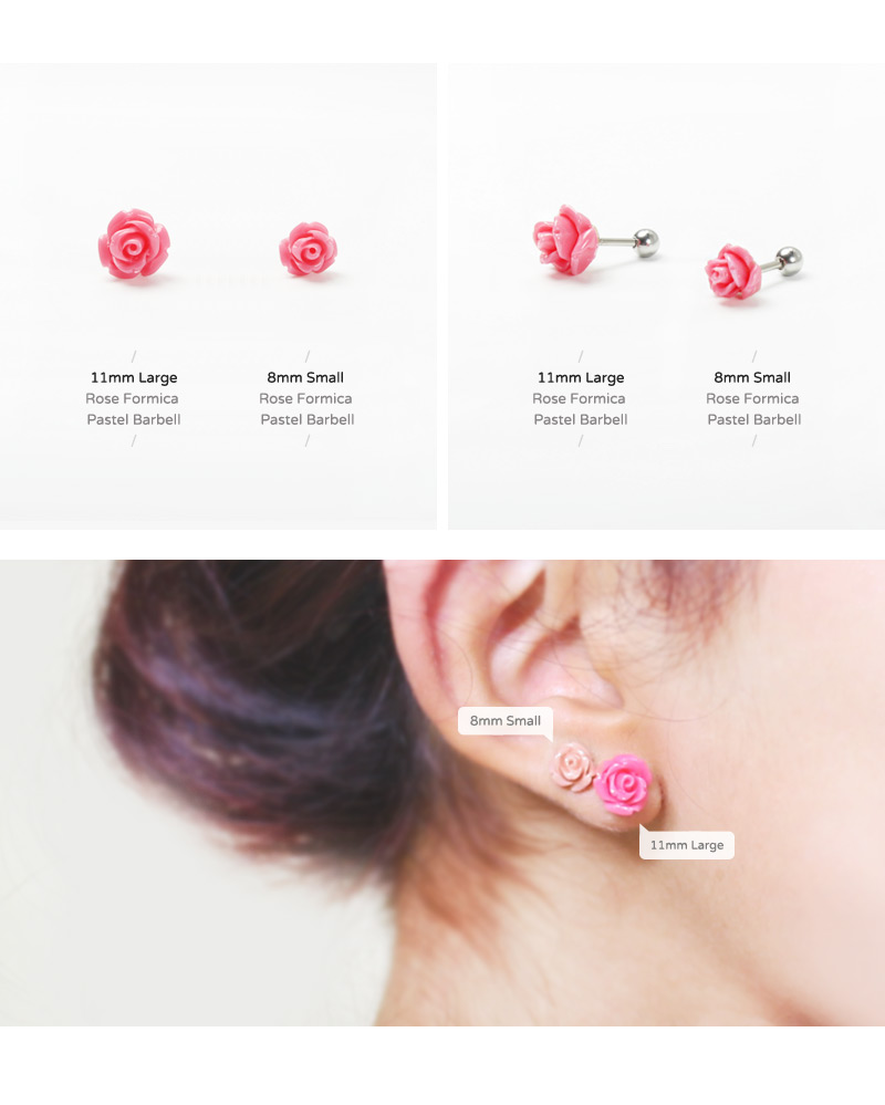 ear_studs_piercing_Cartilage_16g_316l_Stainless_Steel_earring_tragus_korean_asian_style_barbell_flower_floral_Formica_rose