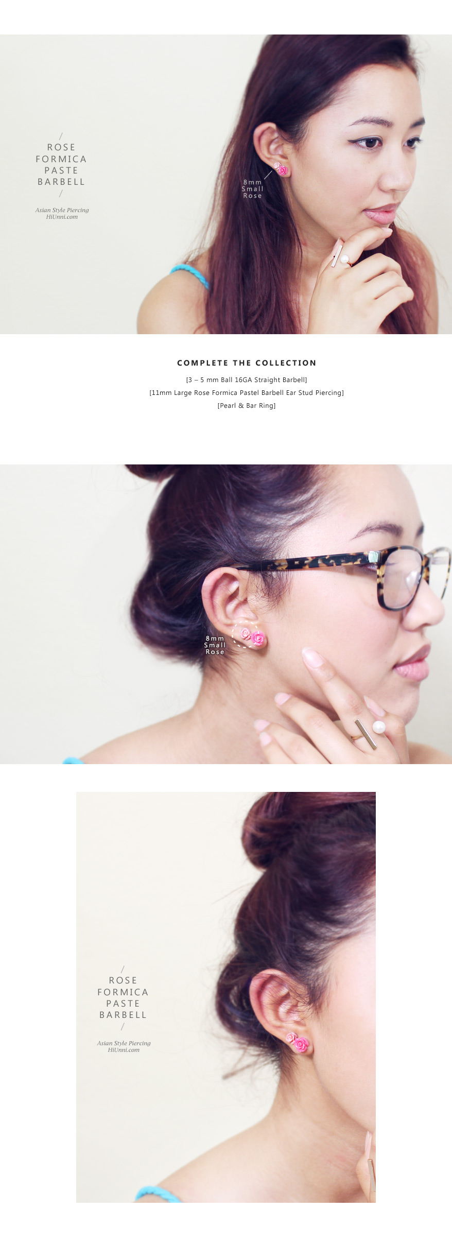 ear_studs_piercing_Cartilage_16g_316l_Stainless_Steel_earring_tragus_korean_asian_style_barbell_flower_floral_Formica_rose_4