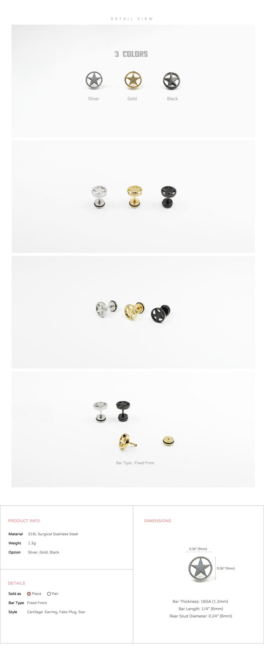 accessories_Korean-style_asian-style_316l_ear_cartilage_piercing_earrings_16g_ear-studs_cheater_fake_plug_star_5