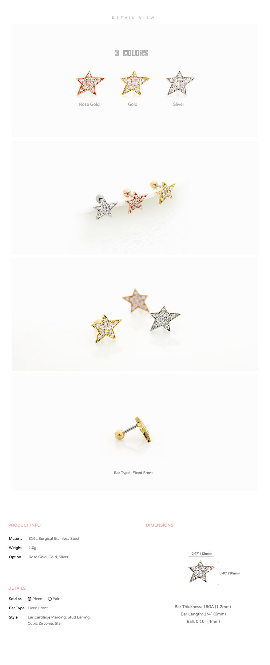 ear_studs_piercing_Cartilage_earrings_16g_316l_Surgical_Stainless_Steel_korean_asian_style_jewelry_barbell_crystal_star