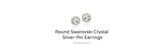 accessories_ear_stud_earrings_korean_asian_style_jewelry_Nickel-Free_titanium_swarovski-_crystal_round_925_silver_2