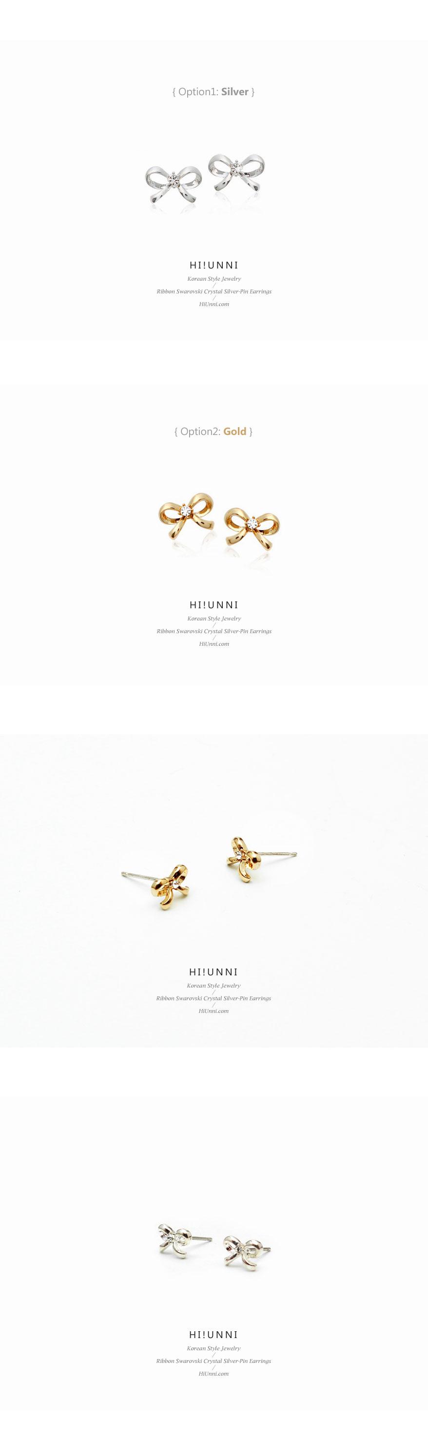 accessories_ear_stud_earrings_korean_asian_style_jewelry_Nickel-Free_titanium_swarovski_crystal_ribbon_925_silver_2