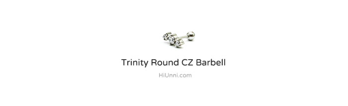 ear_studs_piercing_Cartilage_16g_316l_Stainless_Steel_earring_korean_asian_style_barbell_gem_cubic_zirconia_cz_triple_2