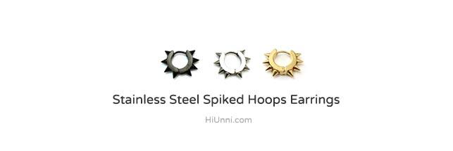 ear_studs_piercing_Cartilage_earrings_16g_316l_Surgical_Stainless_Steel_men_korean_asian_style_jewelry_hoops_spike_2