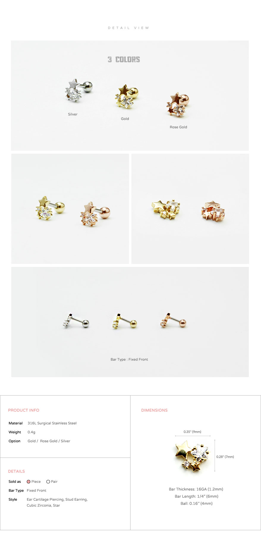 ear_studs_piercing_Cartilage_earrings_16g_316l_Surgical_Stainless_Steel_korean_asian_style_jewelry_barbell_cubic_zirconia_cz_star_4
