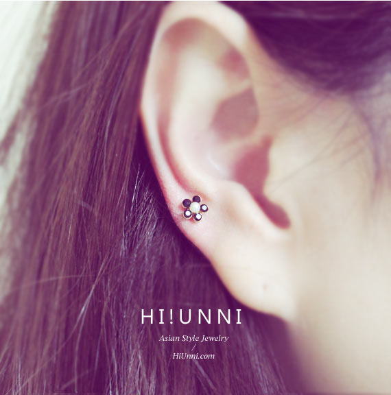 ear_studs_piercing_cartilage_earrings_16g_316l_surgical_korean_asian_style_jewelry_barbell_helix_conch_labret_tragus_flower_pearl_3