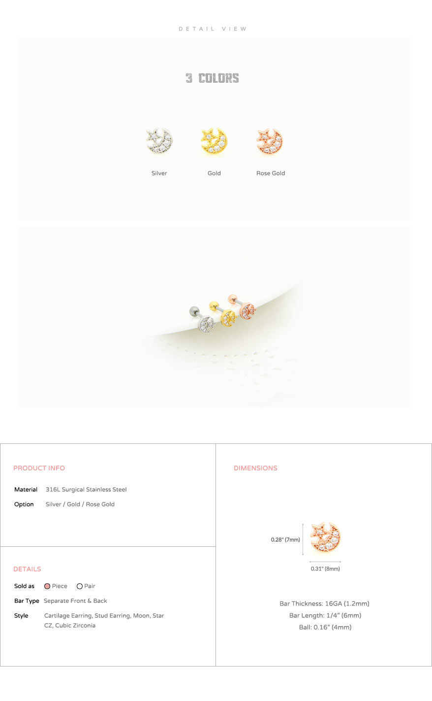 ear_studs_piercing_cartilage_earrings_16g_316l_surgical_stainless_steel_korean_style_jewelry_barbell_rose_gold_moon_star_helix_conch_labret_tragus_5