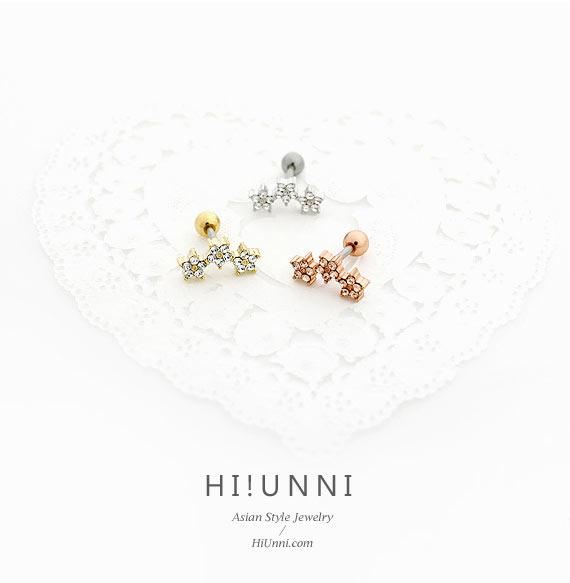 jewelry_earrings_stud_cartilage_piercing_16g_barbell_316l_cz_double_bow_tie_bowtie_ribbon_conch_helix_triple_star_flower_3