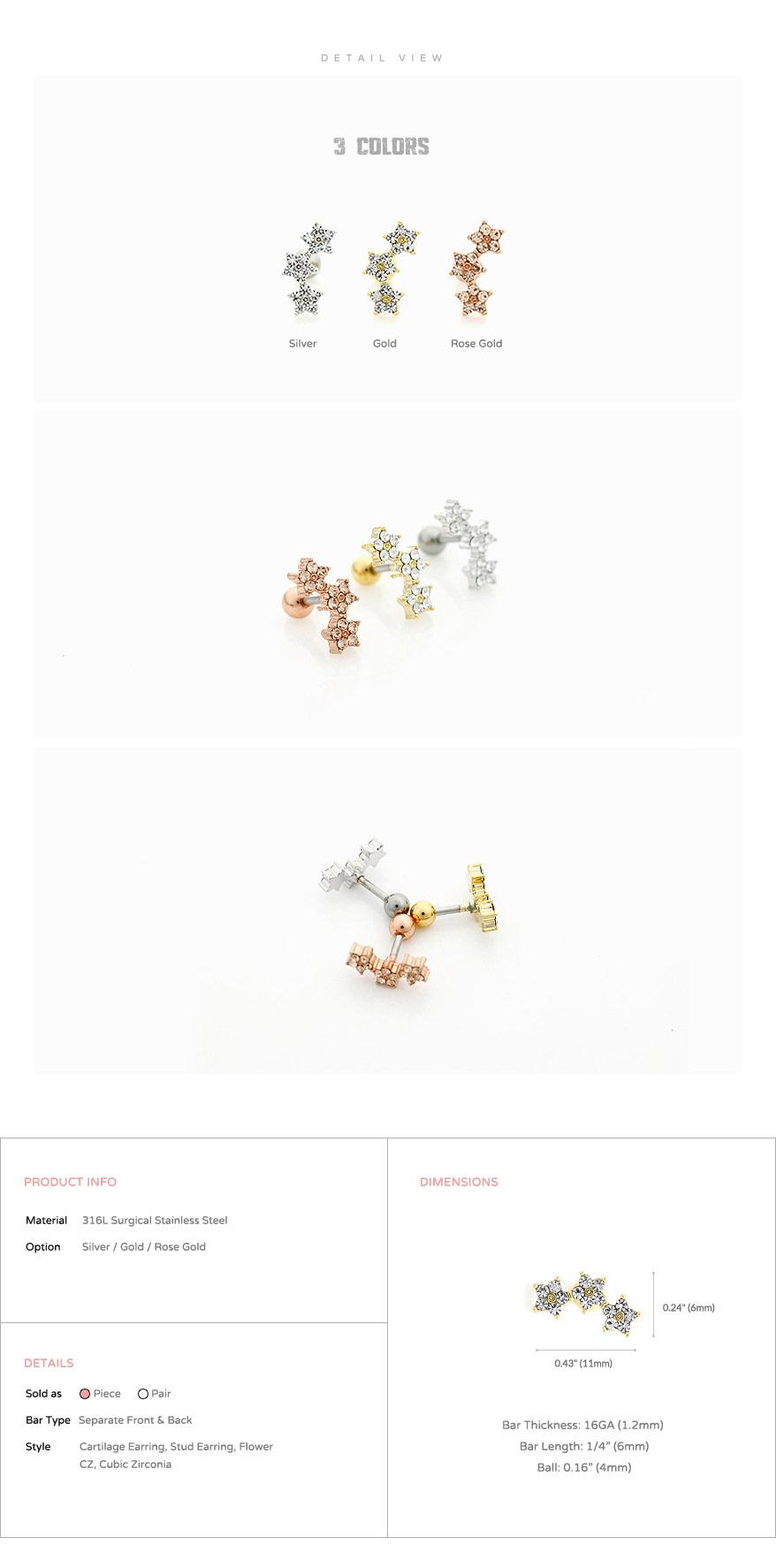 jewelry_earrings_stud_cartilage_piercing_16g_barbell_316l_cz_double_bow_tie_bowtie_ribbon_conch_helix_triple_star_flower_5