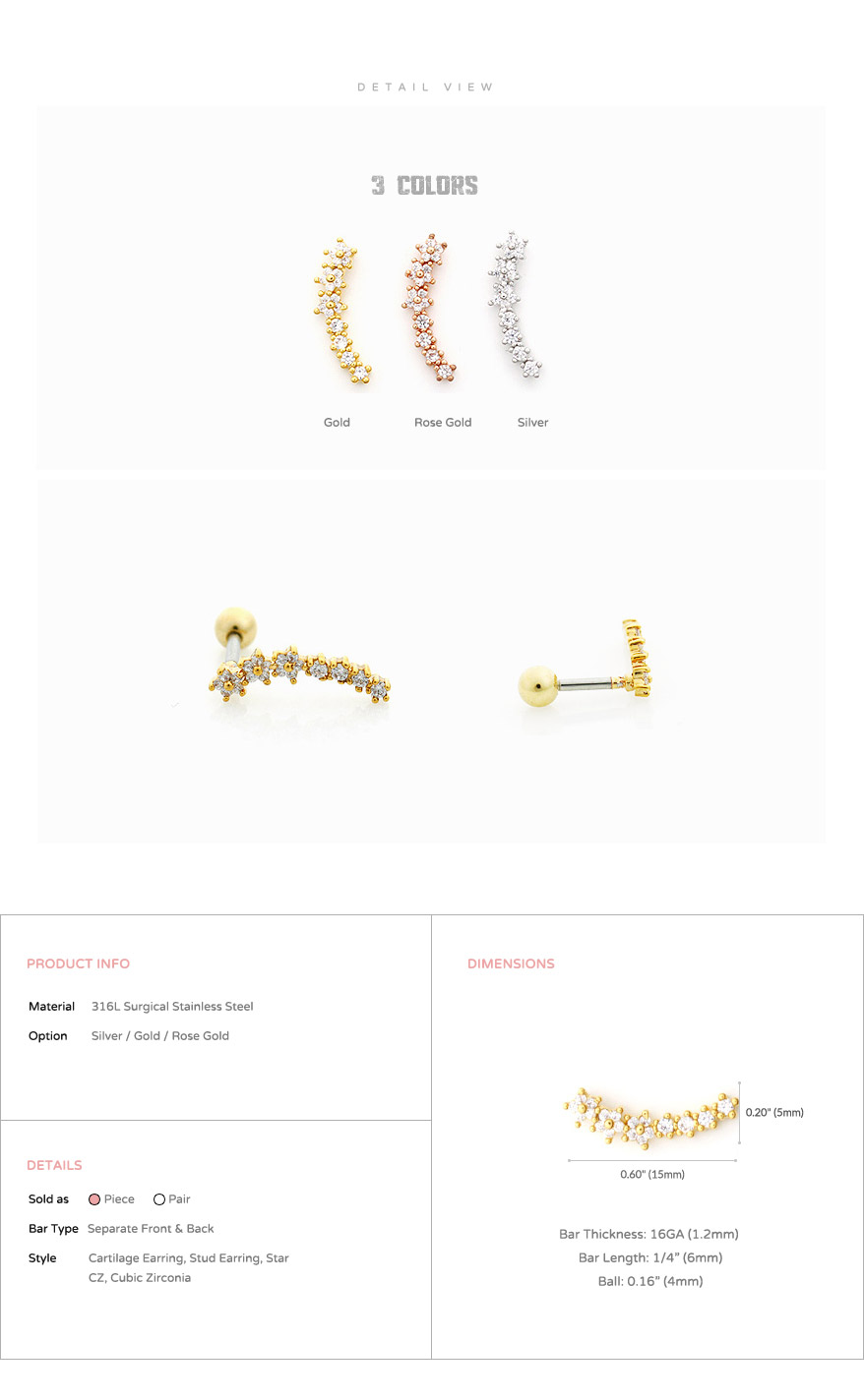 ear_studs_piercing_cartilage_earrings_16g_316l_surgical_stainless_steel_korean_asian_style_jewelry_barbell_rose_gold_helix_star_5