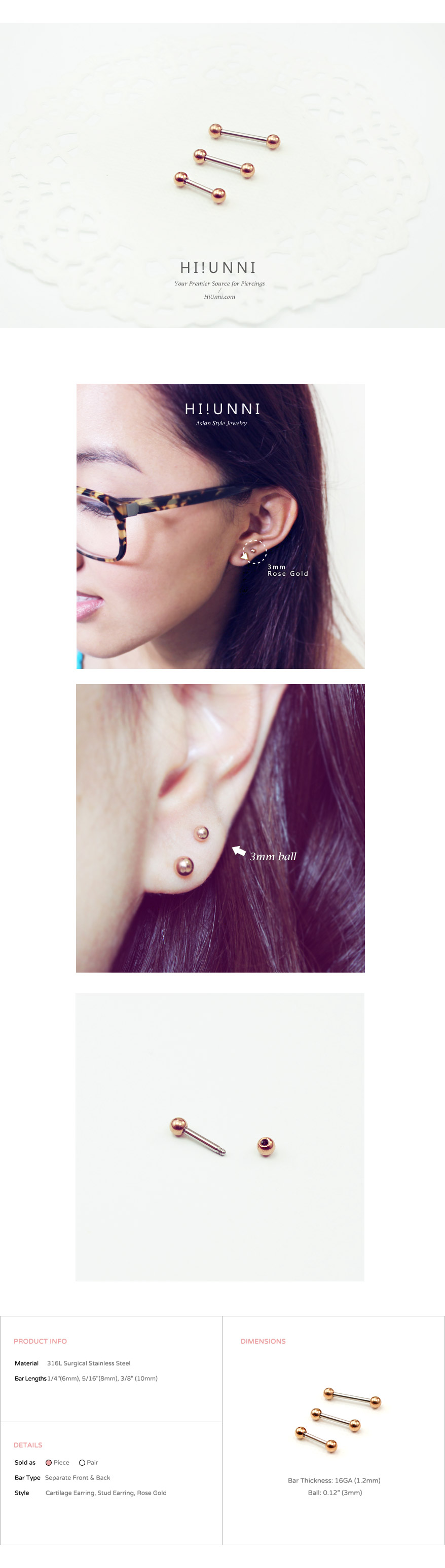 ear_studs_piercing_Cartilage_16g_316l_Stainless_Steel_earring_tragus_barbell_3mm_rose_gold_4