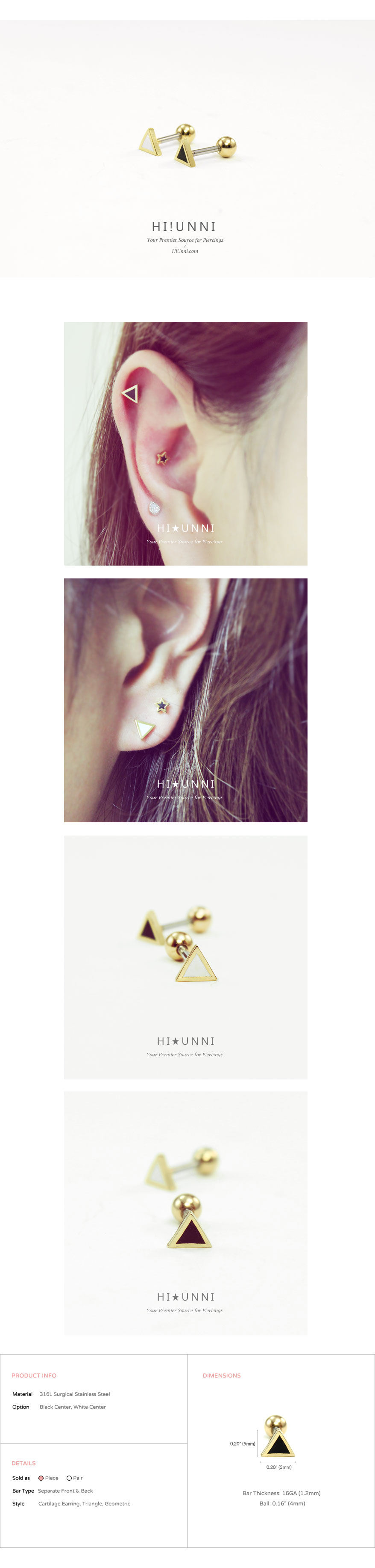 ear_studs_piercing_Cartilage_16g_316l_korean_asian_style_barbell_Triangle_gold_4