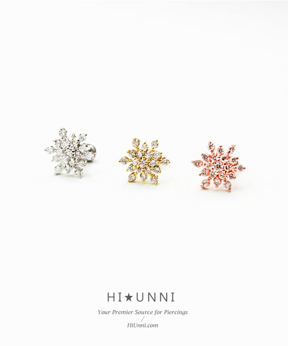 ear_studs_piercing_cartilage_earrings_16g_316l_surgical_stainless_steel_jewelry_barbell_rose_gold_helix_conch_snow_flake_3
