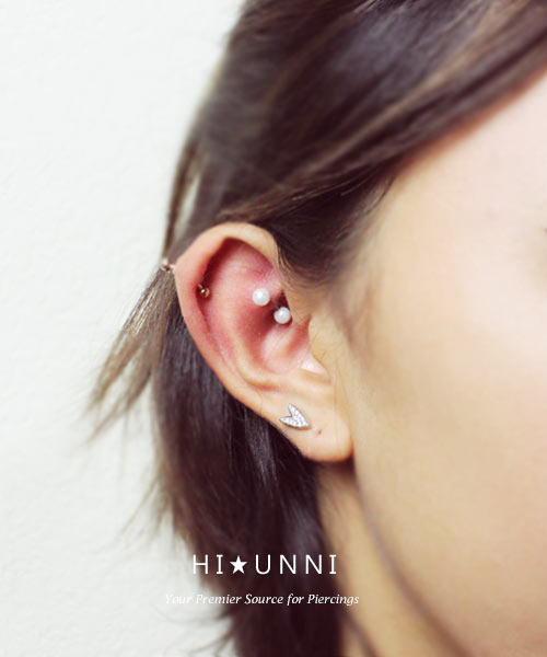 16G 8mm Daith Rook Helix Snug Earrring Belly Lip Ring Piercing Stianless Steel Curved Barbells Eyebrow Body Jewelry