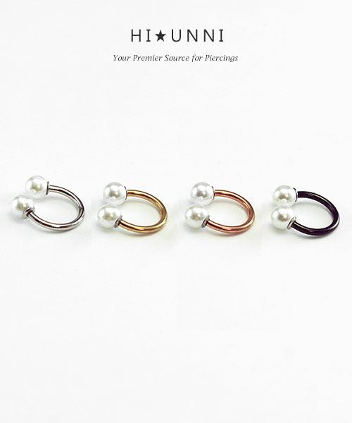 1pc  Stainless Steel 16g Tragus Helix Hoop Captive Rings Cartilage Ear Earrings